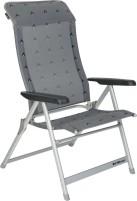 Chaise pliante Berger Luxury XL gris