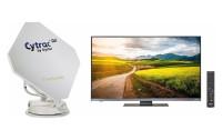 """Système satellite Cytrac DX Premium 19"""" Cytrac DX Premium + TV 19 pouces"""