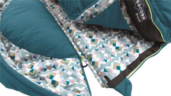 Outwell Deckenschlafsack Camper rechts Reissverschluss rechts