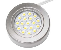 Einbauspot 1W 18SMD LED Nickel
