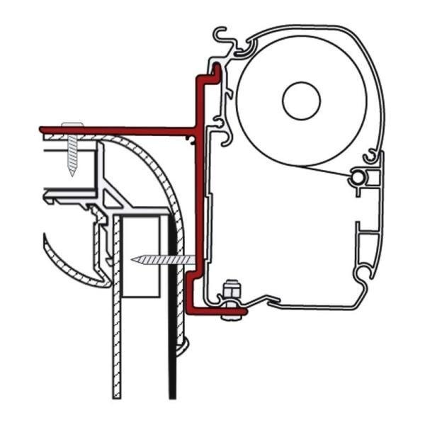 Adapter F45i/F45iL/ F1 f.Adria,Bürstner