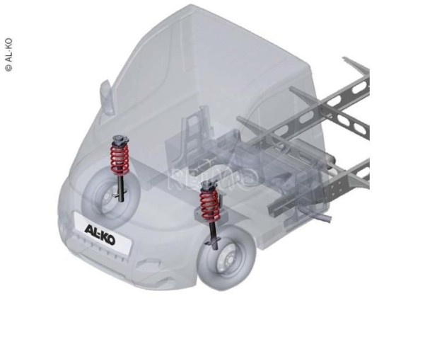 Al-Ko Comfort Suspension 35L Kastenwagen Ducato ab 2014