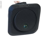Einbauschalter 12V (Ein/Aus) 25A schwarz mit LED