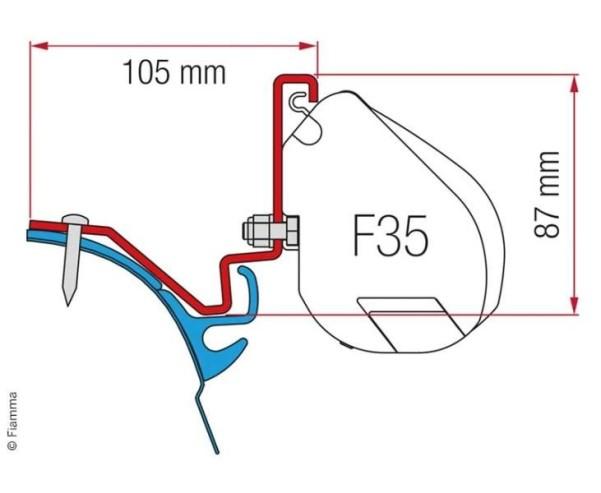Adapter für F35, VW T6 LR Westfalia Kepler