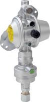 Détendeur de sécurité pour gaz GOK Caramatic DriveOne Vertical 30 mbar Montage vertical | 30 mbar