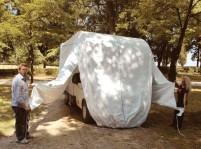 Schutzhaube für Vans L480xB200cmxH210cm