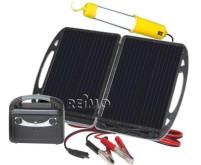 Carbest mobiler Solargenerator mit 13W Modul und A kku 12V/7A