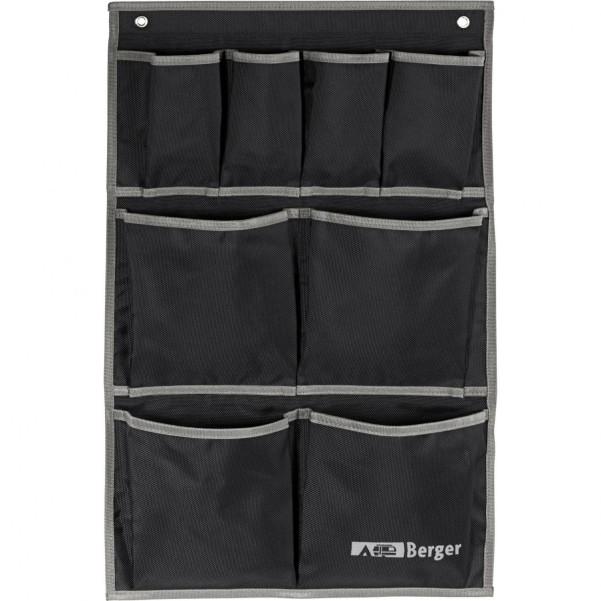 Berger Milo Multi Hängetasche schwarz schwarz, grau