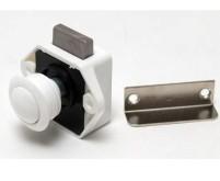 Push Lock Mini - Möbelschloss weiss