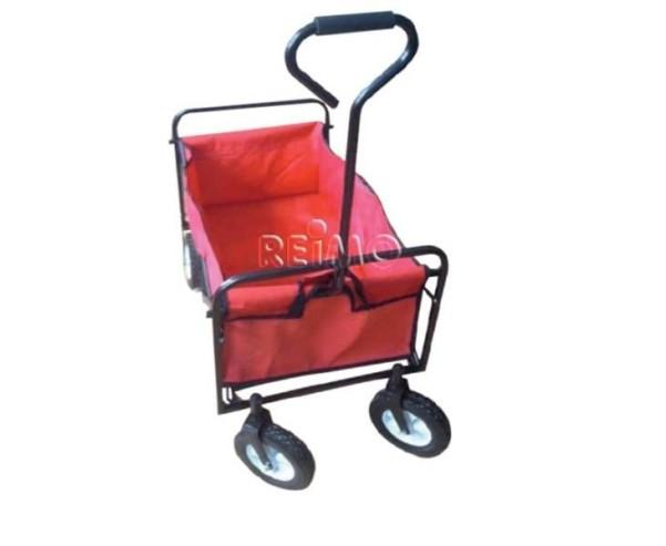 Gepäckwagen/Strandbuggy, Tragkraft bis ca. 68 kg, rot