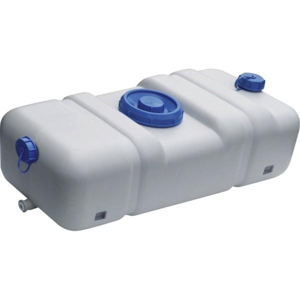 Réservoir intégré pour les eaux douces et les eaux usées 70 l