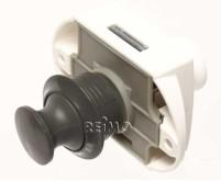 Push-Lock peut être actionné des deux côtés (gris)
