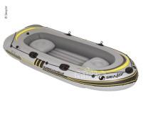 Ruderboot Supercaravelle f.4 Personen, 322x138cm,  grau