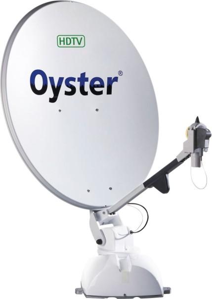 Système satellite Ten Haaft Oyster HDTV avec récepteur HD Europe SKEW single LNB
