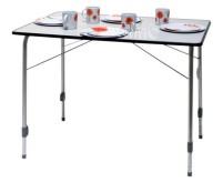 Table de camping Bergamo 3 deLuxe 100x68 cm lipping b lau