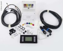 Système d'affichage PC210, système complet, 12V noir