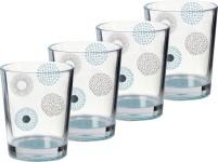 Brunner Acrylic Drinking Glass Deep Sea Set of 4 (en anglais)