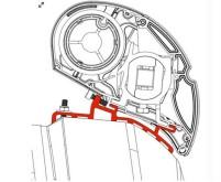 Adaptateur Fiat Ducato de 7/06 4m pour toit haut standard H3 à visser