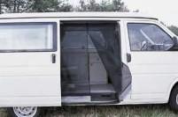 Moskitonetz für VW T4 bis Bj. 2003 Kombi-Bus - Sch iebetüröffnung