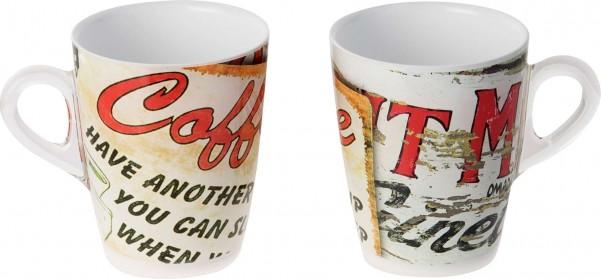 Tassen Plexart Vintage 2er Set