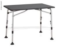 Table de camping AIRCOLITE, 80x60cm, cadre en aluminium, étanche, réglable en hauteur