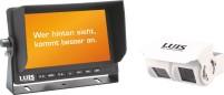 "LUIS 7""-Twin-Rückfahrsystem Professional weiss"