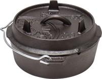 Petromax Dutch Oven pot à feu 1,8 l avec couvercle 1,8 litres