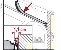 Fiamma Kit Rain Gard S 550cm