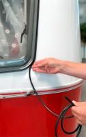 La protection intelligente des bords des fenêtres à charnières