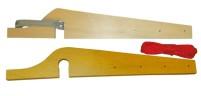Support de corde à linge 15 mm contreplaqué horizontal