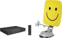 Technisat Skyrider 65 cm Smiley vollautomatische Sat-Anlage (Single LNB)