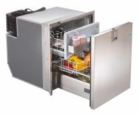 Réfrigérateur à compresseur avec tiroir 12/24V acier inoxydable 65Litres
