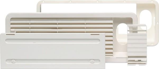 Dometic grille de ventilation supérieure pour réfrigérateurs LS 100 blanc