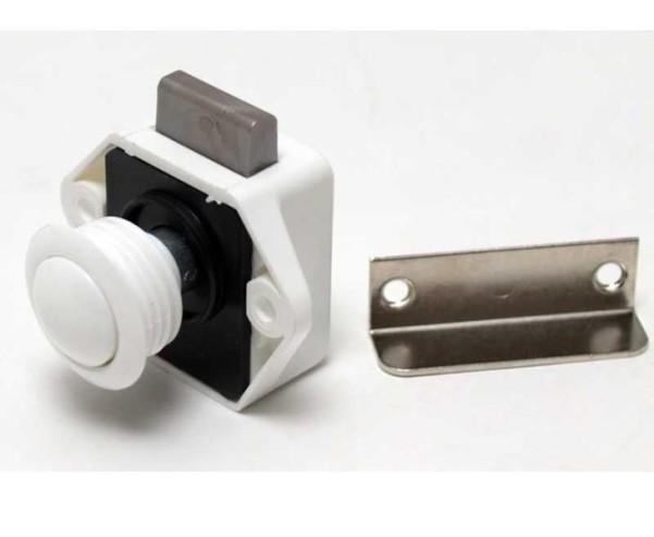 Push Lock Mini weiss lose