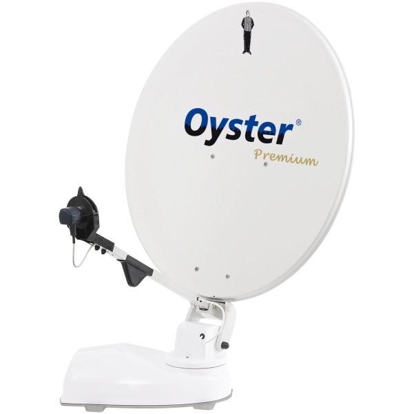 "Sat-Anlage Oyster 85 Premium TWIN SKEW + 19"" TV"