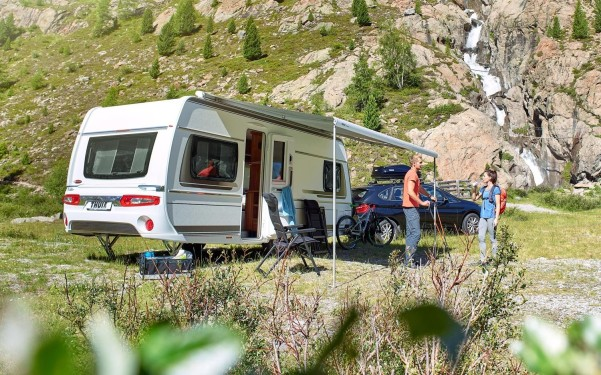 Thule Omnistor 6300 weiss 3,5 m grau Dachmarkise grau | 350 cm