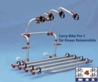 Porte-bagages arrière Carry Bike ProC Knaus pour 2 vélos
