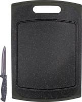 Steuber Schneidebrett Granit 29x20 cm inkl. Messer