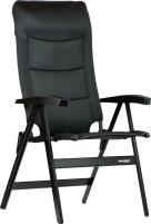 Chaise pliante Westfield Noblesse Deluxe Black Line Comfort à haut dossier