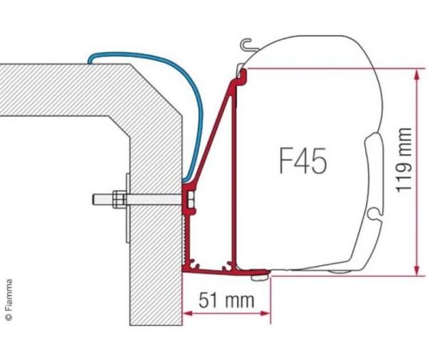 Adapter Rapido Serie 6*400cm