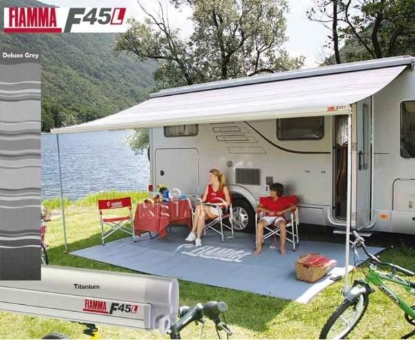 FIAMMA F45 L 5m deluxe grey, boîtier titane