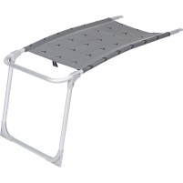 Berger Beinauflage für Klappsessel Comfort / Luxus  grau