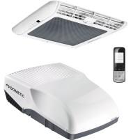 Climatiseur de toit Dometic FreshJet 2200 avec boîtier de distribution d'air et télécommande pour camping-cars jusqu'à 7 M