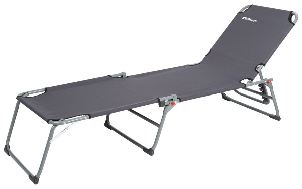Chaise longue tripode Berger gris acier