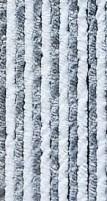Rideau polaire 56x205 gris/blanc