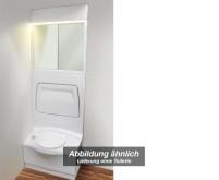 Paroi latérale complète pour toilettes, 200x67x18c m