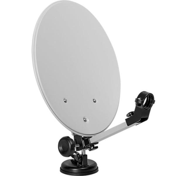 Système satellite mobile Megasat avec valise de camping