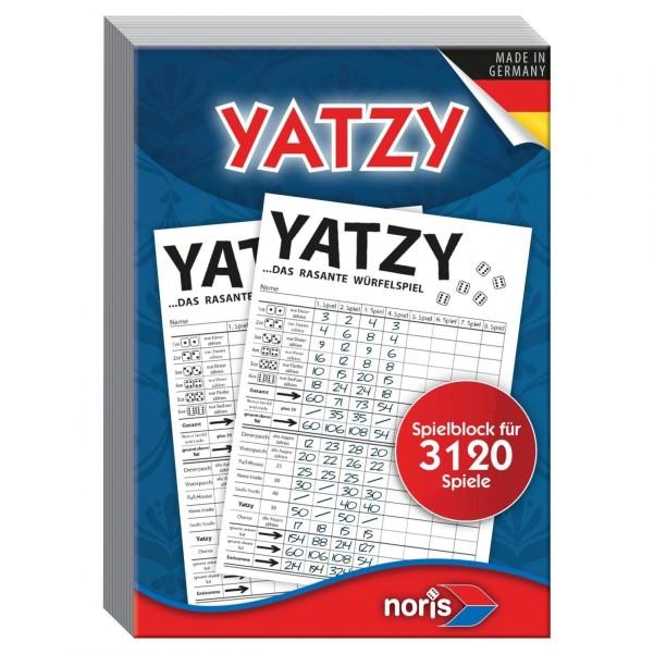 Spiel Yatzy / Knubbel