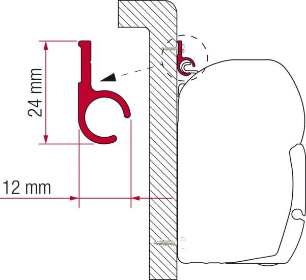 F45 Kit Rail R 300 cm