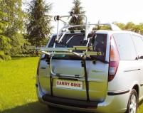 Alu-Heckträger Carry Bike komplett für 2 Räder